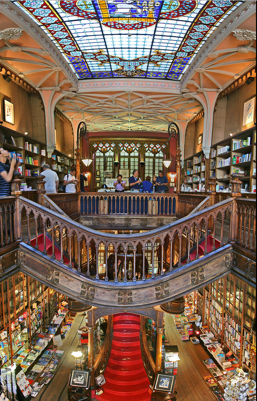 Lello Bookstore Portugal